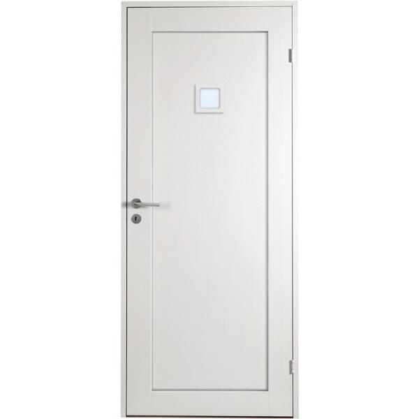 Öland - 1-spegel - Kvadrat 1 glas - Massiv - Innerdörr