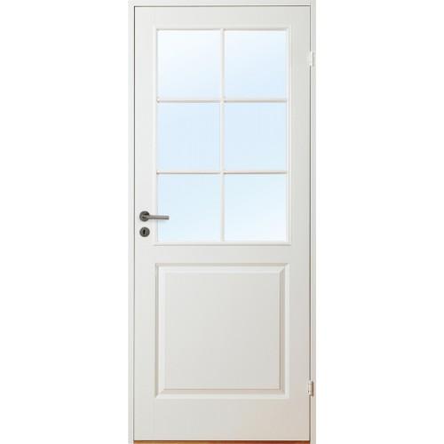 Gotland - 3-spegel SP6 - Formpressad - Innerdörr - Klicka på bilden för att stänga