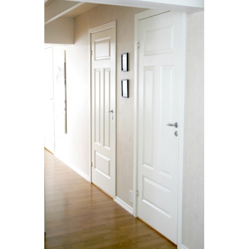 Gotland - 4-spegel - Formpressad - Innerdörr - Klicka på bilden för att stänga