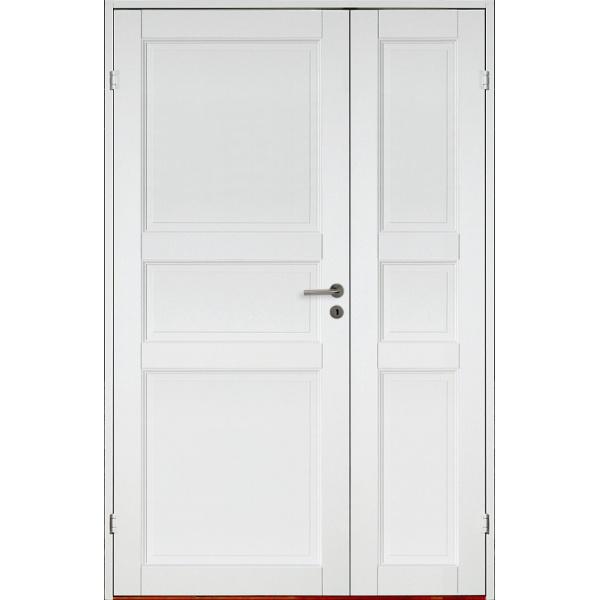 Kungsholmen med sidodörr - 3-spegel - Massiv - Innerdörr
