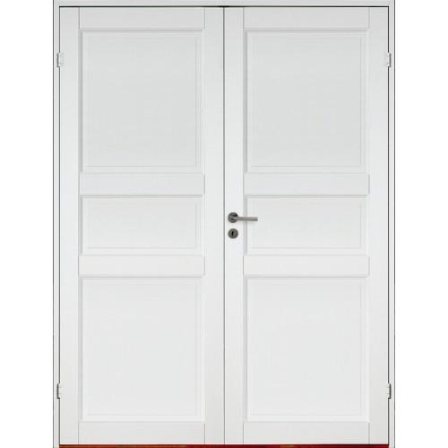 Kungsholmen - 3-spegel - Massiv - Parinnerdörr - Klicka på bilden för att stänga