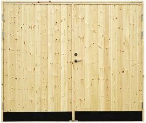18° Rak Panel - Garageport - Klicka på bilden för att stänga